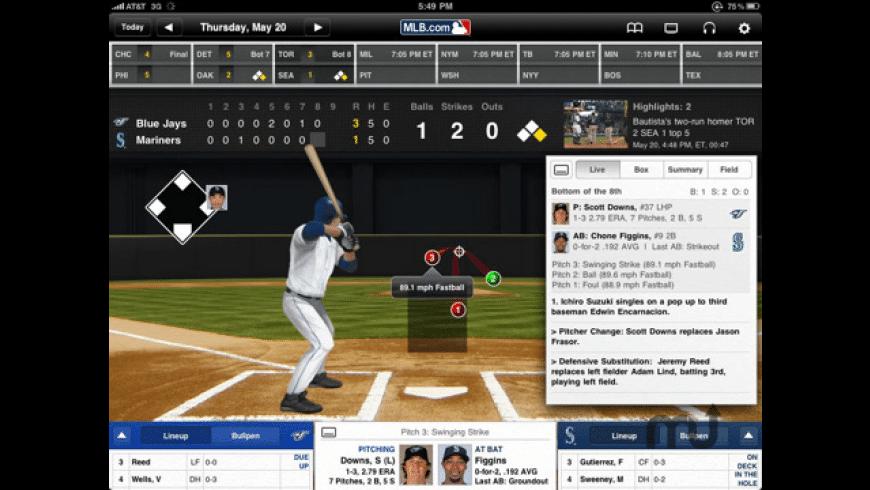 At Bat 2010 for iPad for Mac - review, screenshots