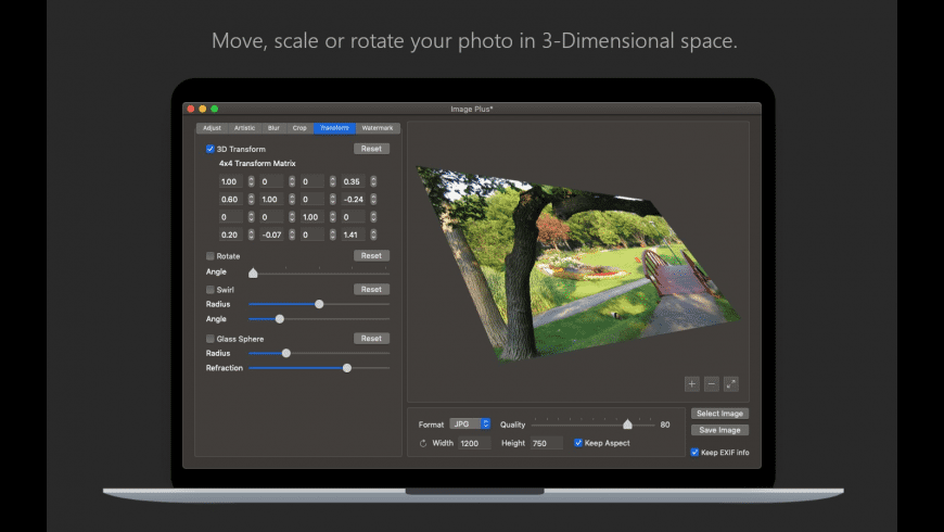 Image Plus for Mac - review, screenshots