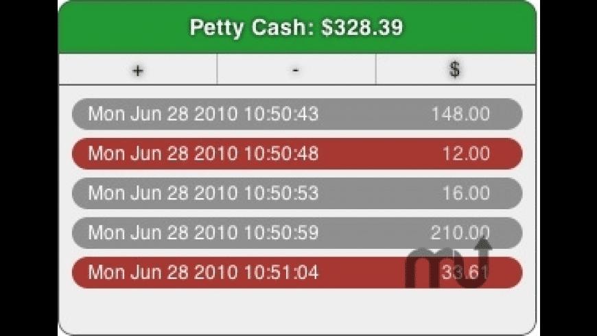 PettyCash for Mac - review, screenshots