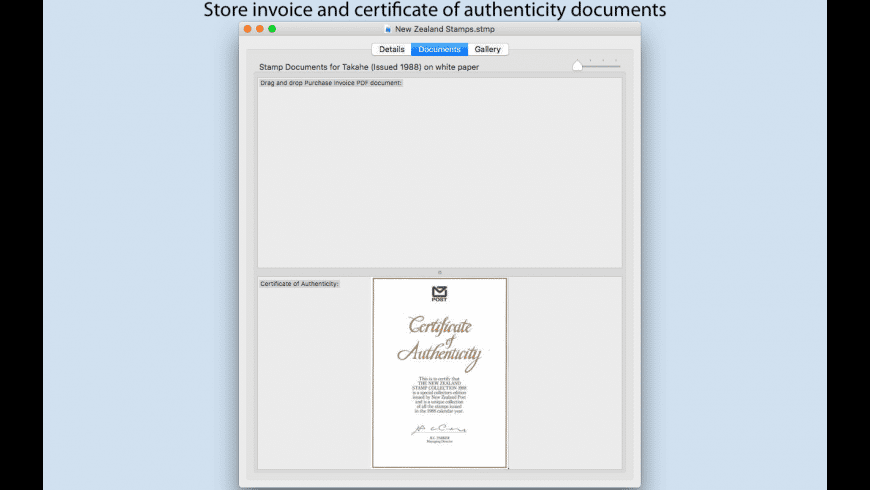 Stamps for Mac - review, screenshots