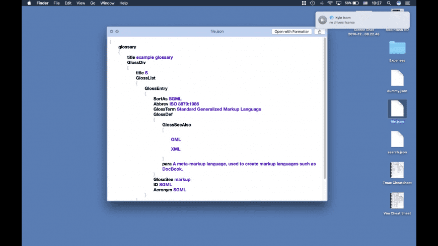 Formatter for Mac - review, screenshots