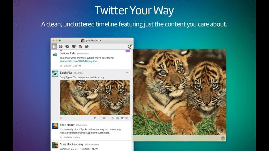 Twitterrific for Mac - review, screenshots
