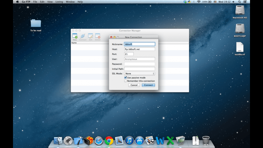 Go FTP for Mac - review, screenshots
