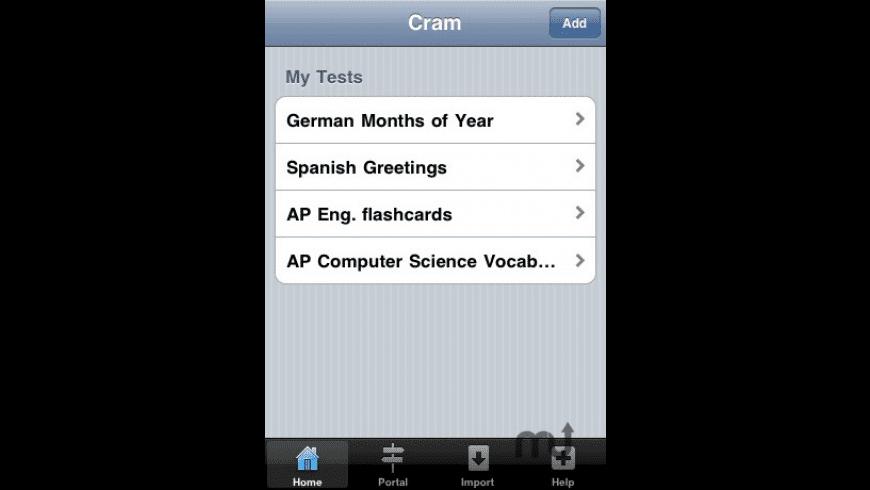 Cram for Mac - review, screenshots
