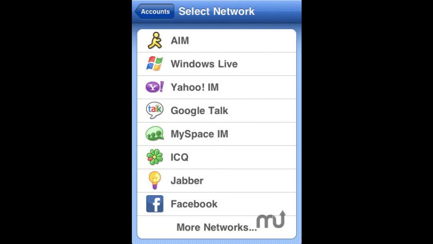 Meebo for Mac - review, screenshots