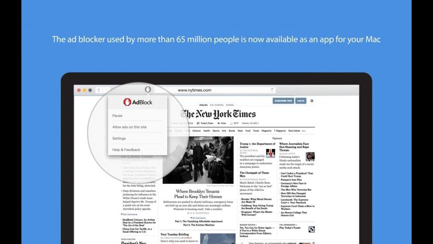 AdBlock for Safari for Mac - review, screenshots