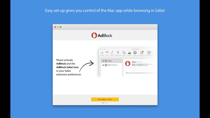AdBlock for Safari for Mac - review, screenshots
