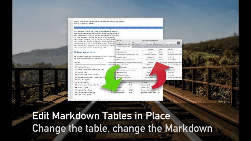 TableFlip for Mac - review, screenshots