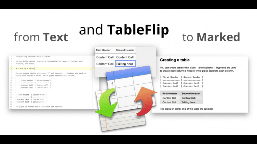 TableFlip for Mac - review, screenshots
