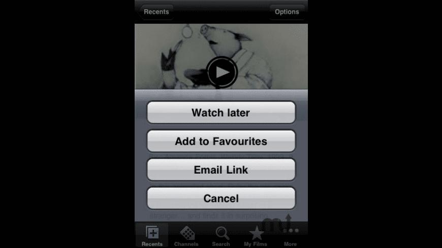 NFB Films for Mac - review, screenshots