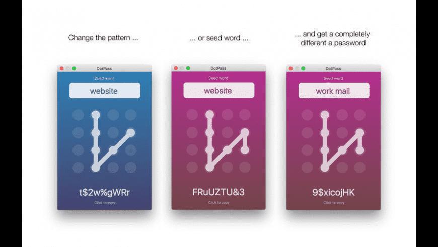 DotPass for Mac - review, screenshots