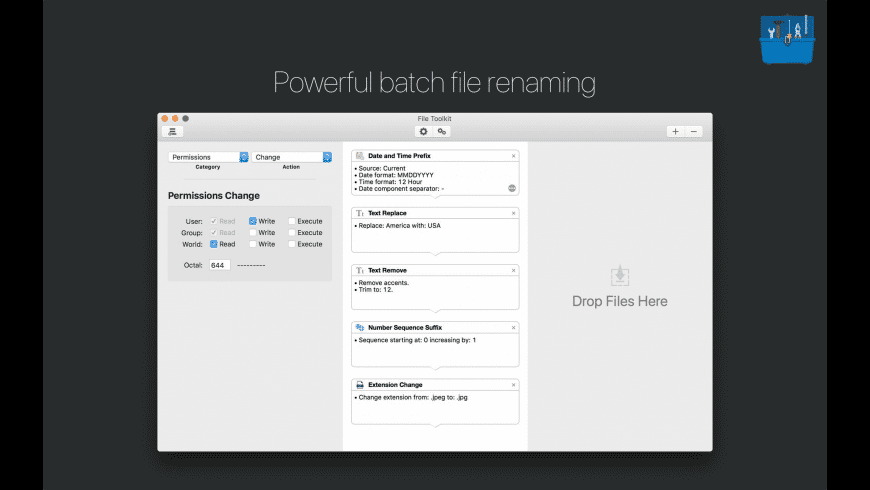 File Toolkit for Mac - review, screenshots