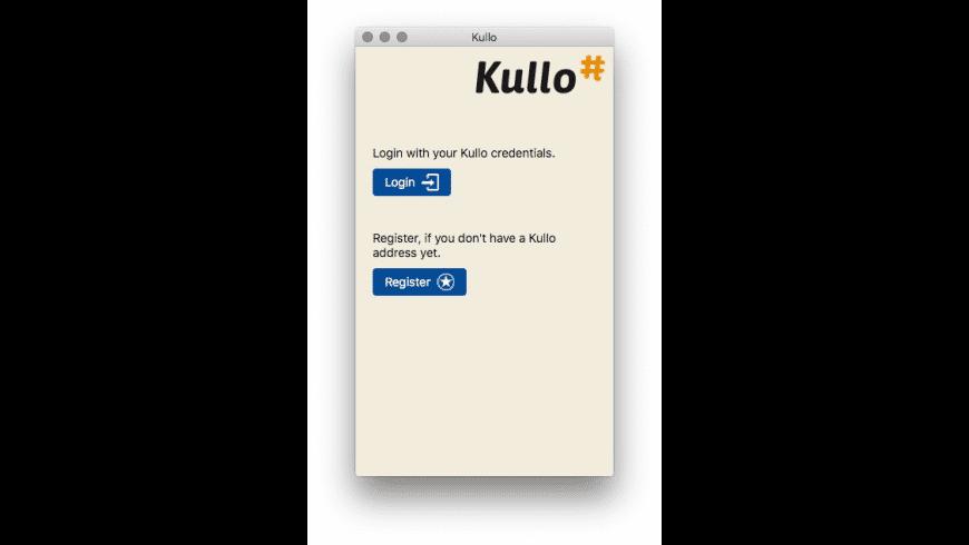 Kullo for Mac - review, screenshots