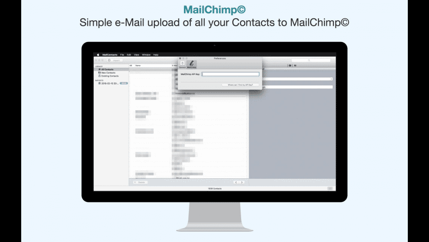 MailContacts for Mac - review, screenshots