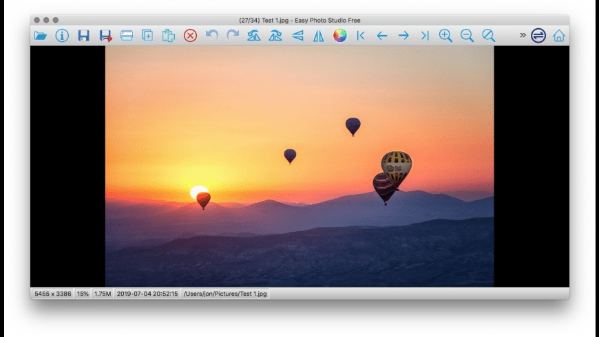 Easy Photo Studio for Mac - review, screenshots