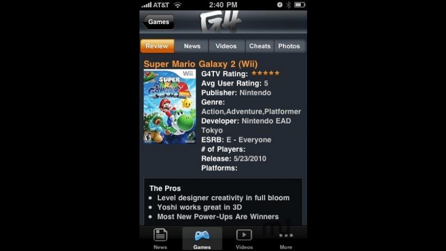 G4 for Mac - review, screenshots