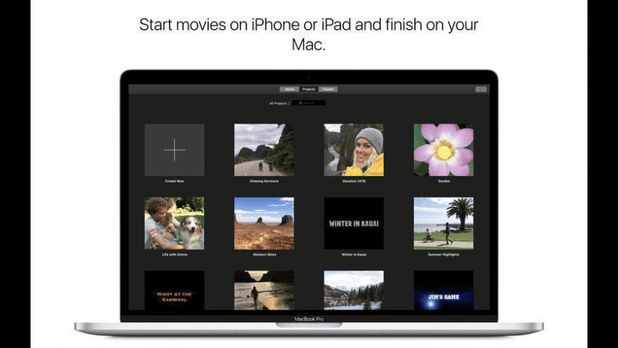 iMovie for Mac - review, screenshots