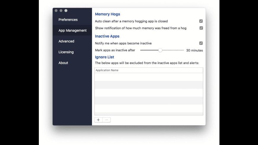 Memory Clean 3 for Mac - review, screenshots