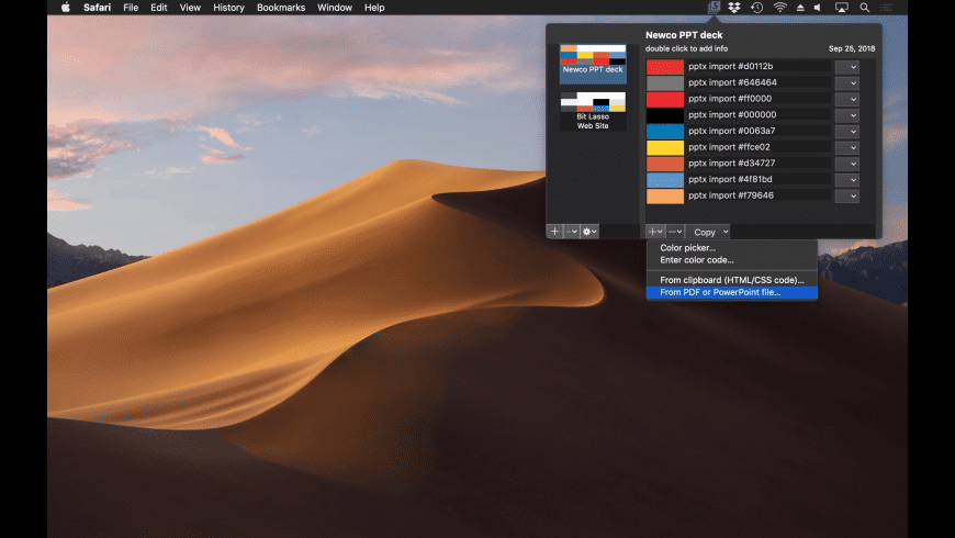 Swatch for Mac - review, screenshots
