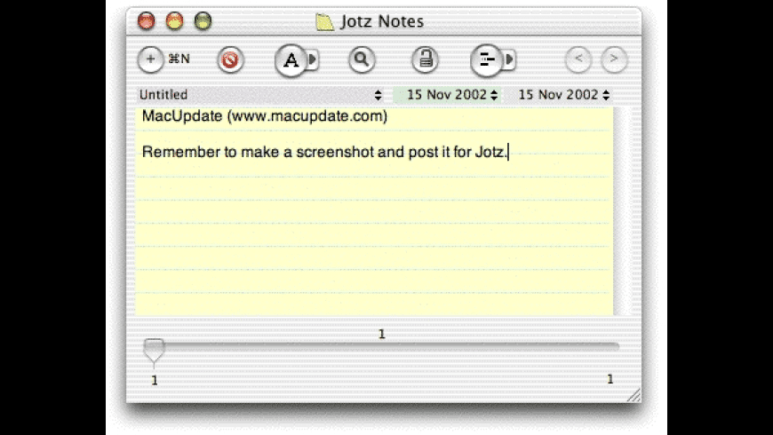 Jotz for Mac - review, screenshots