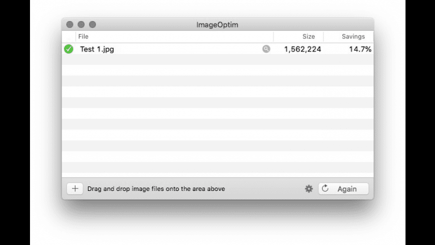 ImageOptim for Mac - review, screenshots