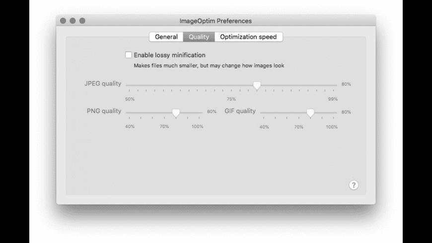 ImageOptim for Mac - review, screenshots