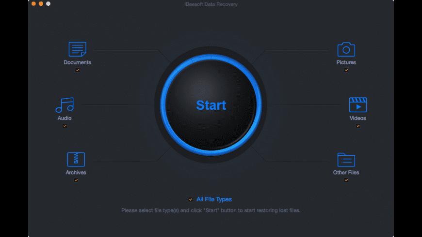 iBeesoft Data Recovery for Mac - review, screenshots