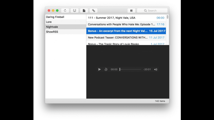 ViBroadCatcher for Mac - review, screenshots