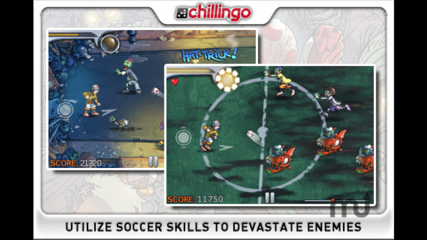 Pro Zombie Soccer for Mac - review, screenshots