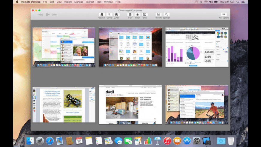 Apple Remote Desktop Client for Mac - review, screenshots