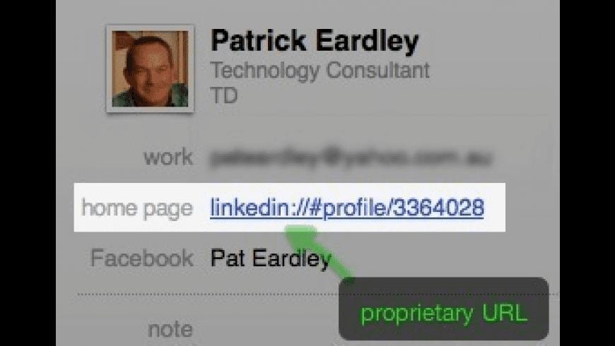 Open LinkedIn for Mac - review, screenshots