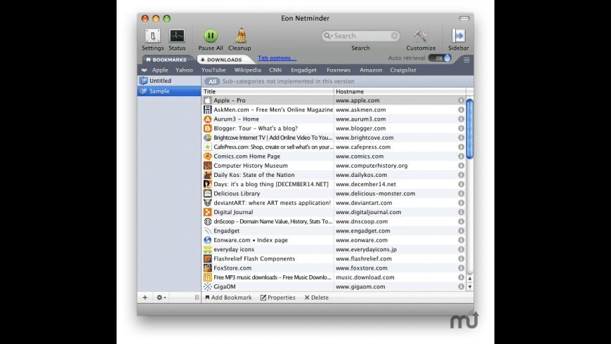 Netminder for Mac - review, screenshots