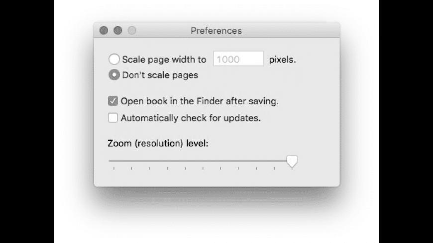 Google Book Downloader for Mac - review, screenshots
