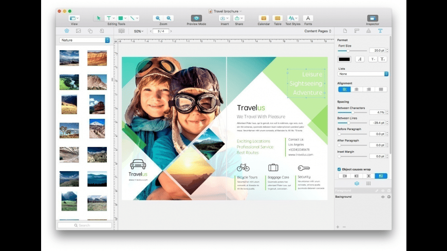 Swift Publisher for Mac - review, screenshots