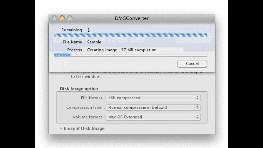 DMGConverter for Mac - review, screenshots