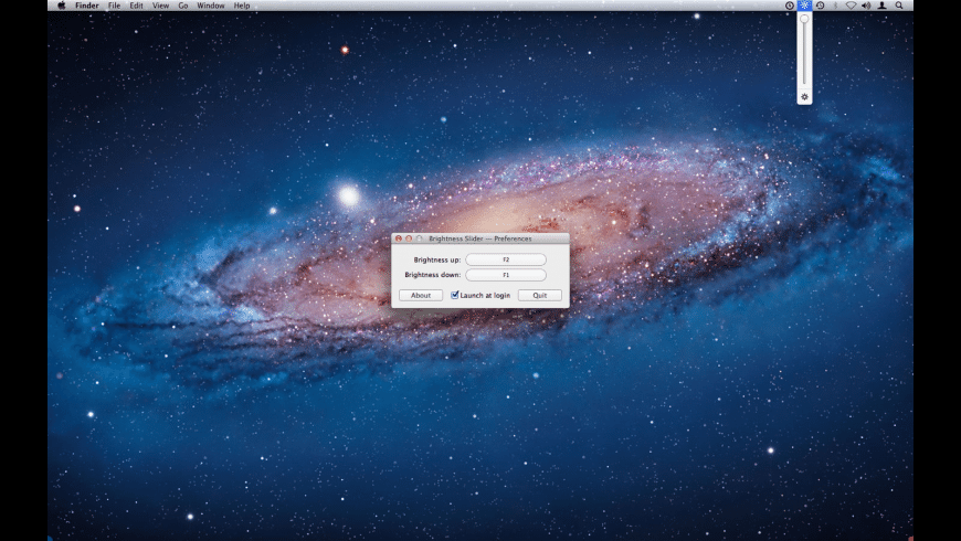 Brightness Slider for Mac - review, screenshots
