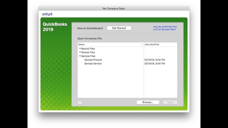 QuickBooks for Mac - review, screenshots