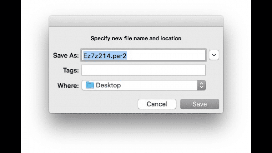 Ez7z for Mac - review, screenshots