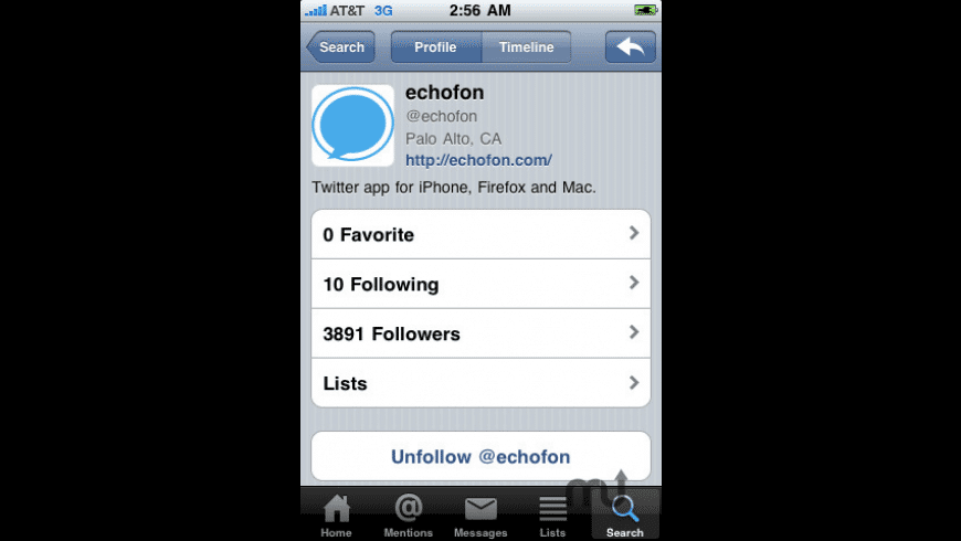 Echofon for Twitter for Mac - review, screenshots