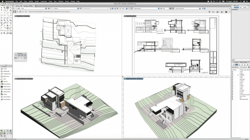VectorWorks for Mac - review, screenshots