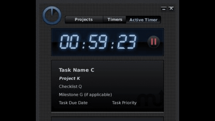 TimeThis for Mac - review, screenshots