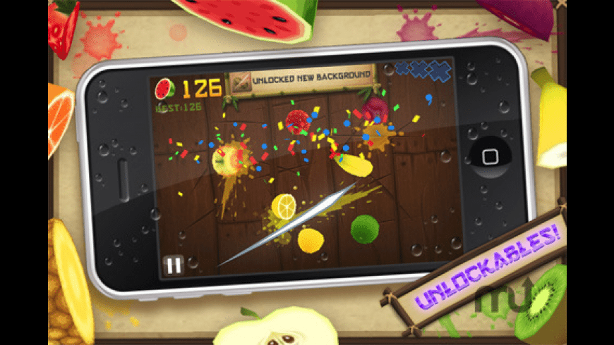 Fruit Ninja for Mac - review, screenshots