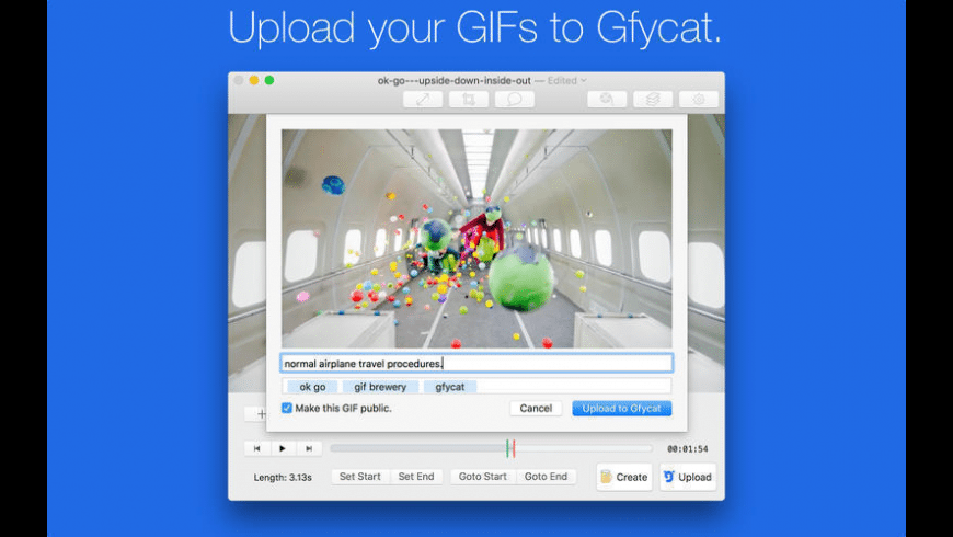 GIF Brewery for Mac - review, screenshots