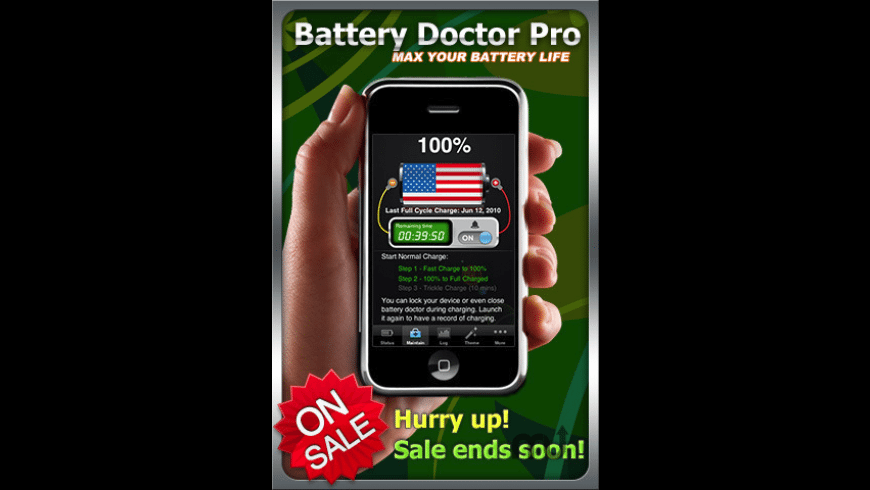 Battery Doctor Pro for Mac - review, screenshots