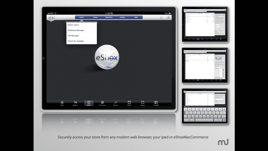 eShoxMacCommerce for Mac - review, screenshots