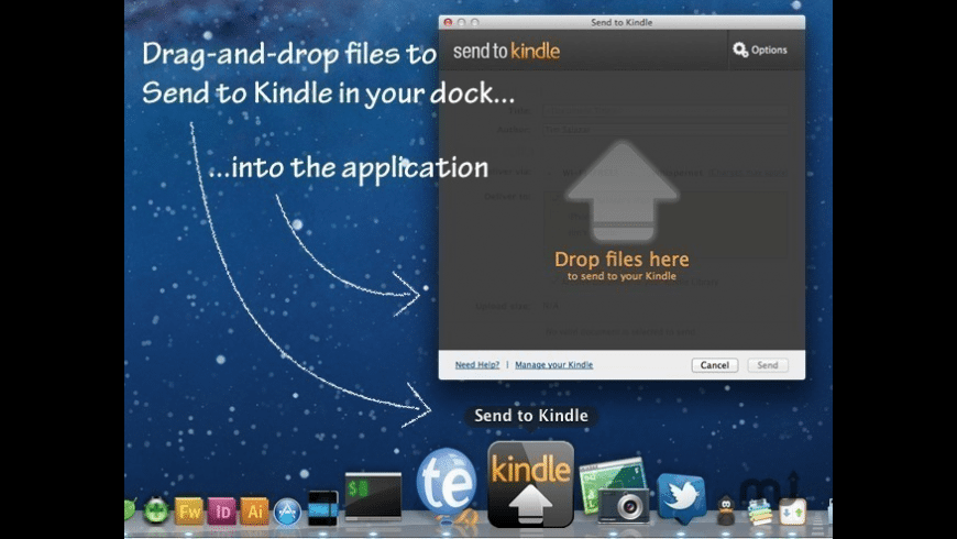 Send to Kindle for Mac - review, screenshots