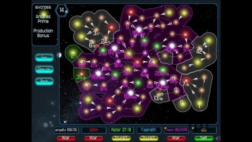 Pax Galaxia for Mac - review, screenshots