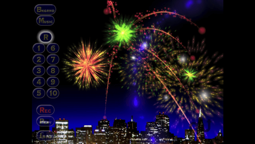 Musical Fireworks HD for Mac - review, screenshots