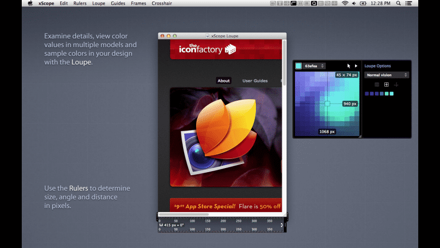 xScope for Mac - review, screenshots