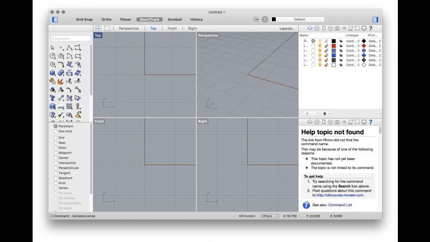 Rhinoceros for Mac - review, screenshots